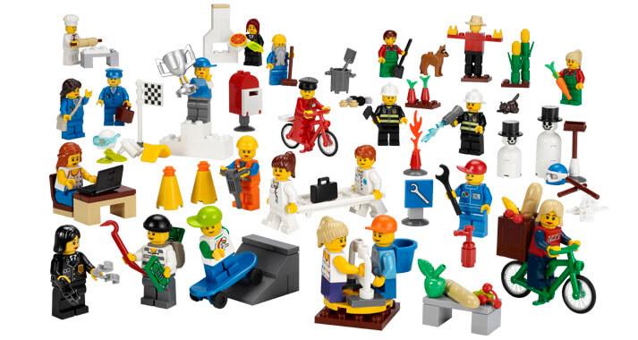 Conjunto de figuritas de la comunidad  - LEGO Education