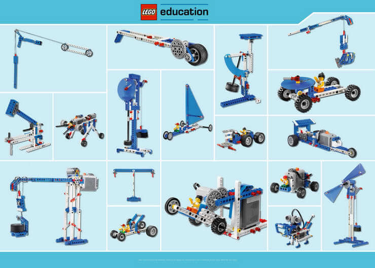 Set de máquinas sencillas y motorizadas - LEGO Education