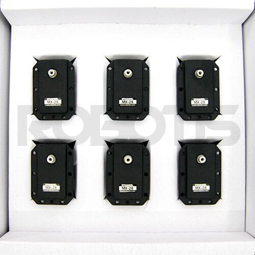 Caja de 6 actuadores MX-28T