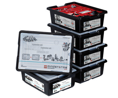 Aula LEGO Mindstorms Education EV3 8 estudiantes