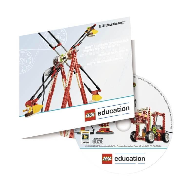 Proyectos para el Set de recursos LEGO WeDo, ref 2009585