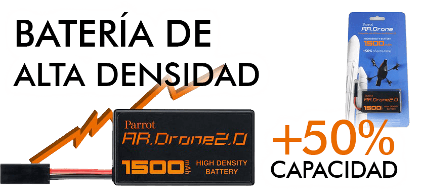 BATERIA alta capacidad 1500 mAh Drone 2.0