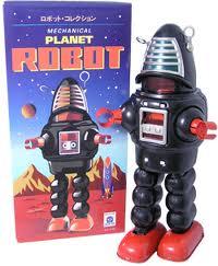 Planet Robot Negro