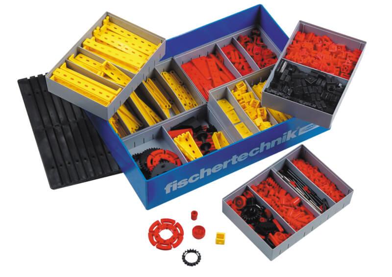 Caja recursos CREATIVE BOX de 700 piezas - Fischertechnik PLUS