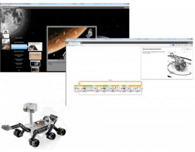Actividades del reto LEGO EV3 espacial