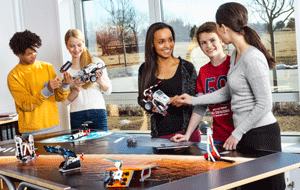 Set del reto LEGO EV3 espacial
