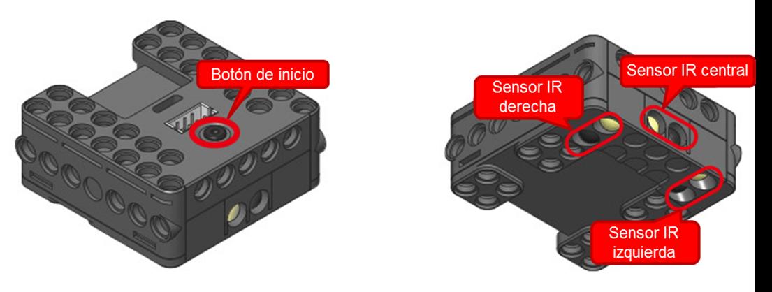 Detalles del controlador CM-150 de ROBOTIS