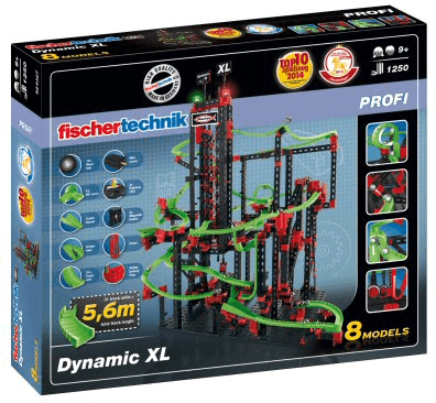 Caja Fischertechnik Dynamic XL