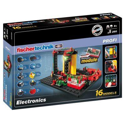 Fischertechnik kit de electrónica