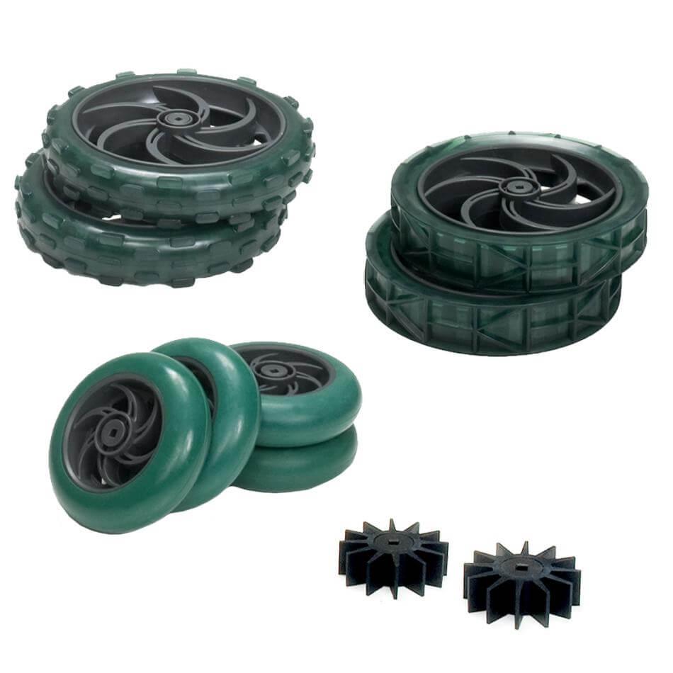 Contenido del kit de ruedas VEX