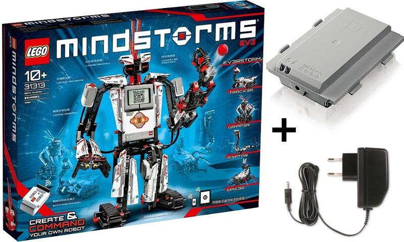 PACK LEGO MINDSTORMS EV3 Hogar + Batería + Cargador