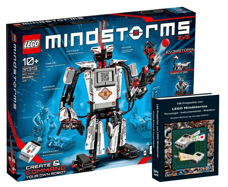 Pack LEGO Mindstorms EV3 Hogar con libro de 150 proyectos
