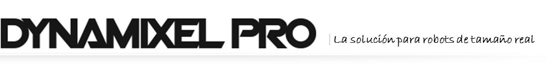 DYNAMIXEL PRO logo