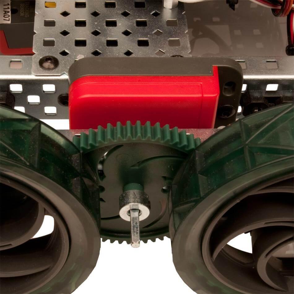 Encoder óptico en el robot