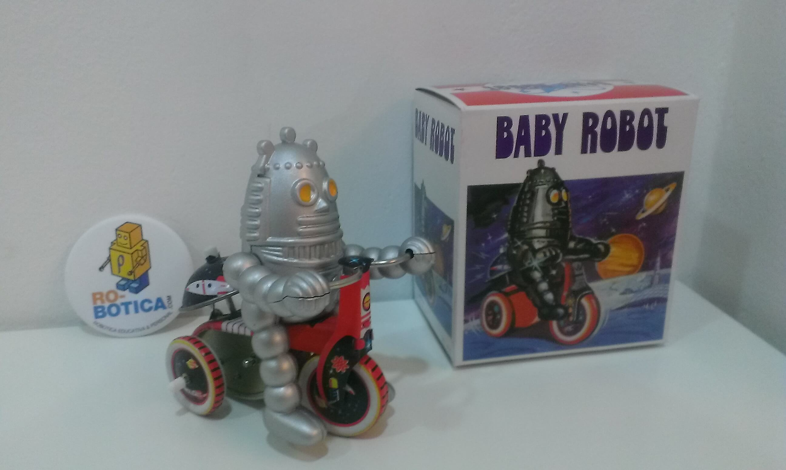 Baby Robot Triciclo