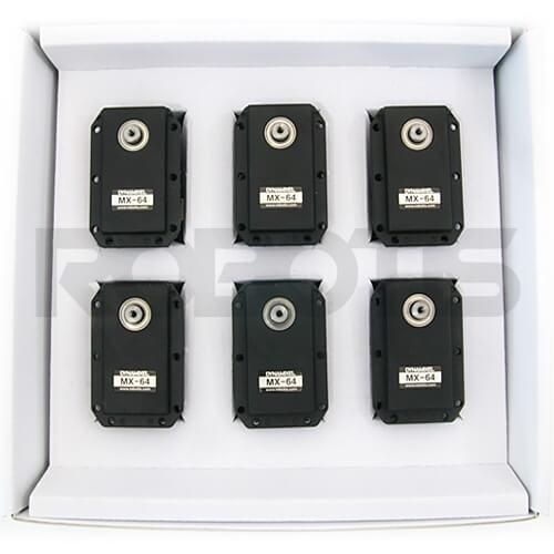 Caja 6 dynamixel MX-64R