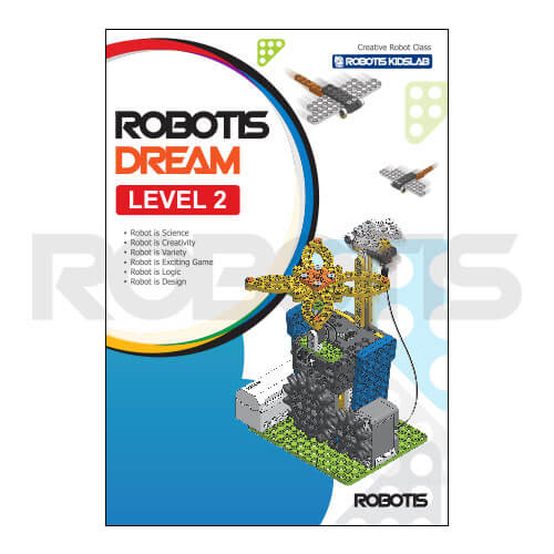 Portada workbook ROBOTIS DREAM Nivel 2