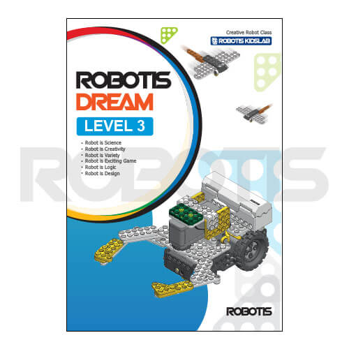 Portada workbook ROBOTIS DREAM Nivel 3