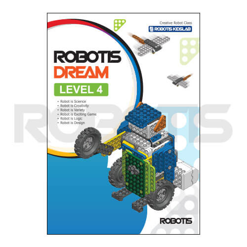 Portada workbook ROBOTIS DREAM Nivel 4