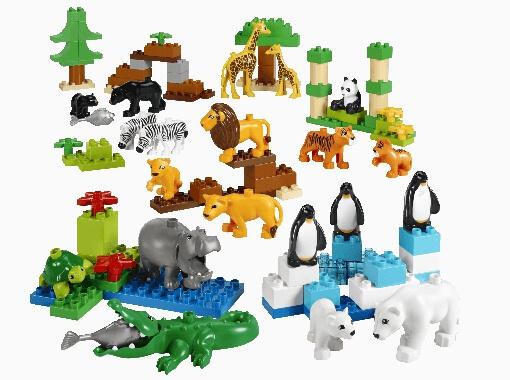 Los animales salvajes de LEGO Duplo