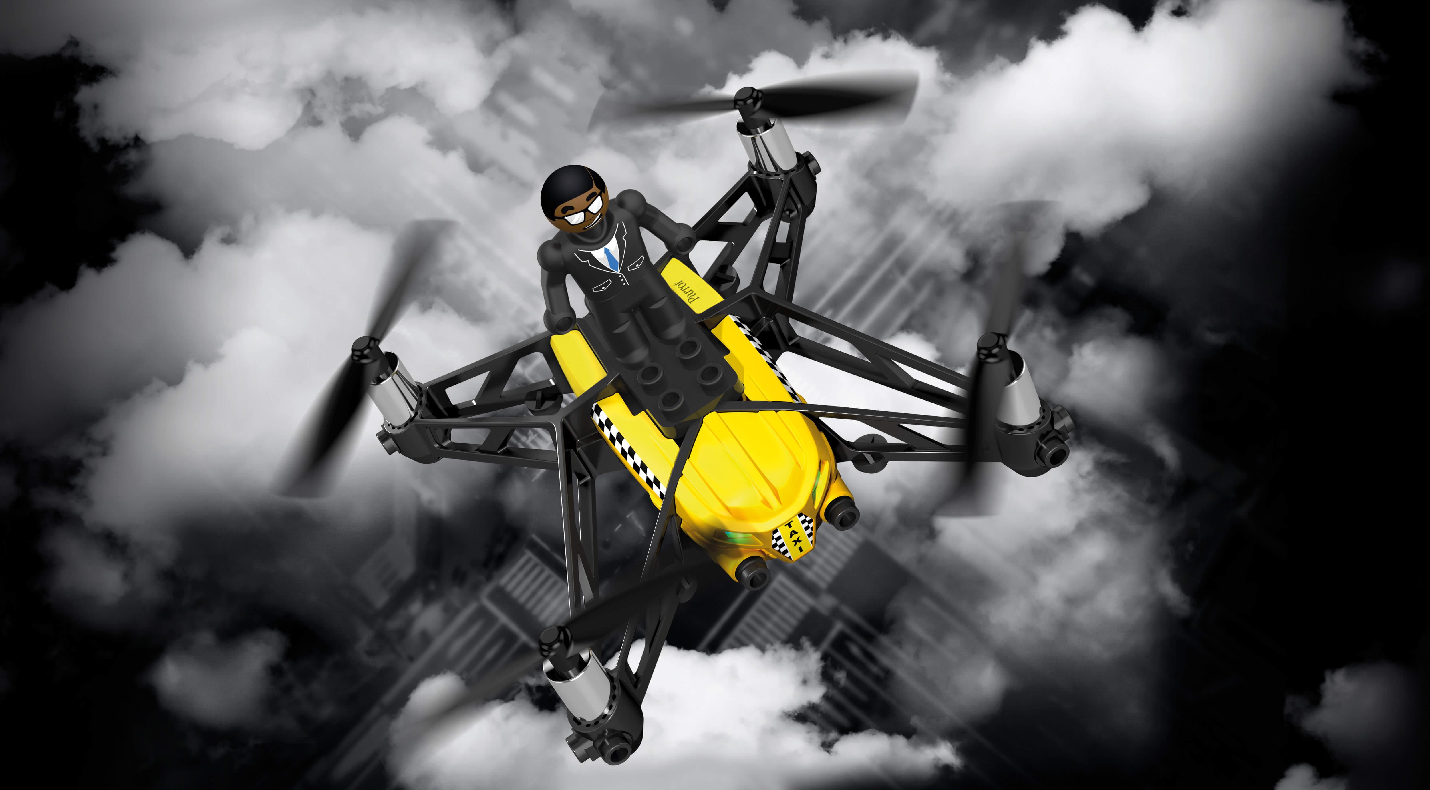 Drone Airbone cargo de Parrot en RO-BOTICA