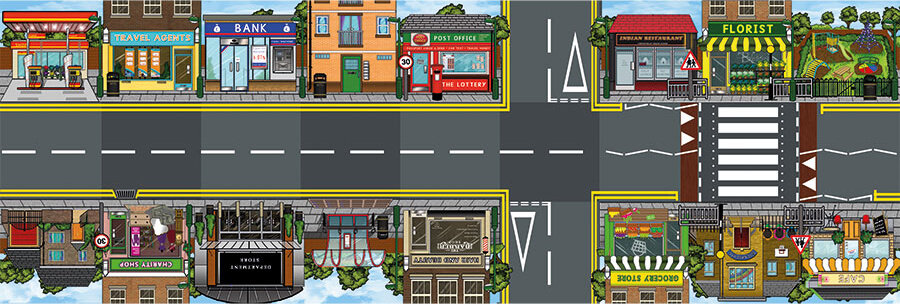 La ciudad y sus profesiones con Bee-Bot