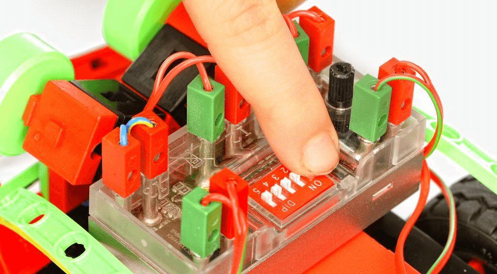 Módulo de control de fischertechnik kit stem Mini Bots
