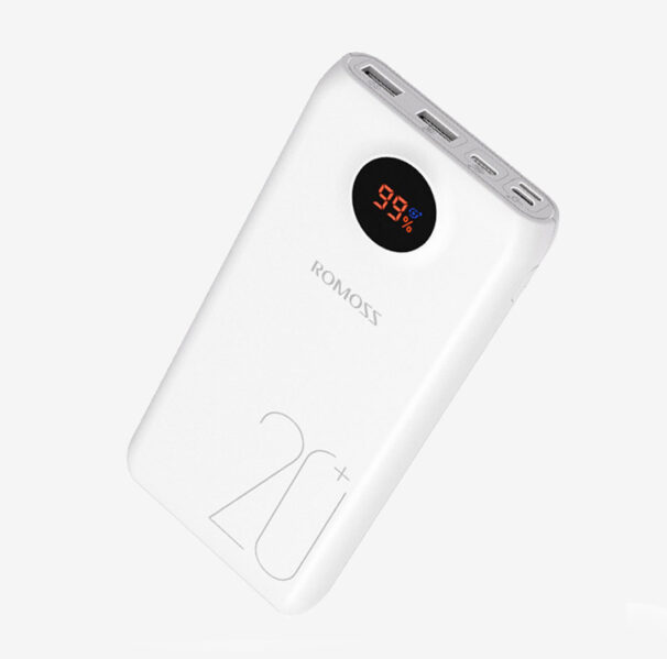 ROMOSS SW20 PRO QUICK CHARGE 3.0 POWER BANK - 20000mAh