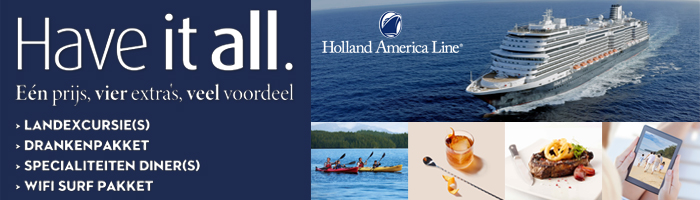Holland America Line - Have it All homepage