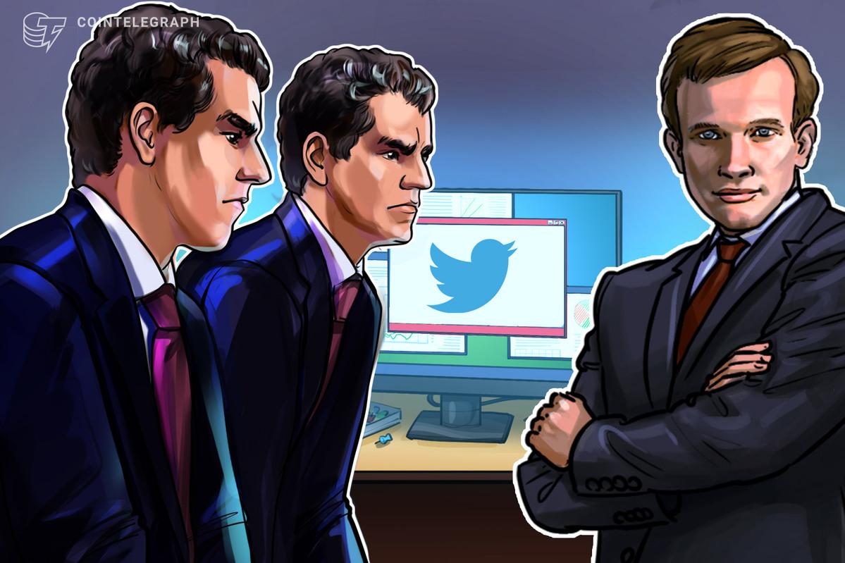 Buterin and Winklevosses Address Twitter Censorship Battle