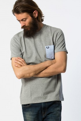 Fred Perry - Textured Mix Pique Tshirt