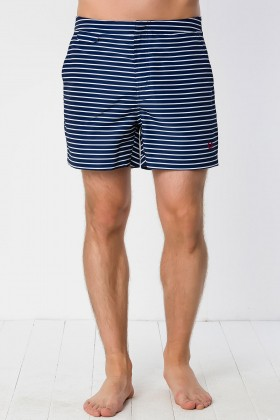 Fred Perry - Breton Stripe Swim Shorts Deniz Şortu