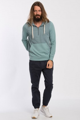 Jack & Jones - Jorjapan Sweat Hood Açık Mavi