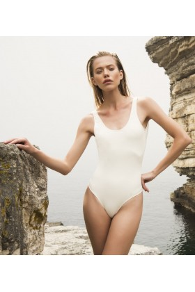 Anais Margaux Paris - Margot Ecru Swimsuit