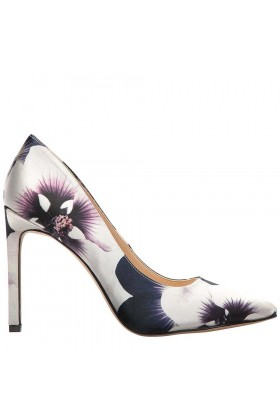 Nine West - Nwtatıana2 Gri/beyaz Saten