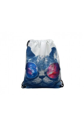 Fudela & Co - Cats drawstiring bag