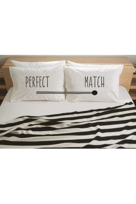 Pillow Talk - Perfect Match Yastık Kılıfı