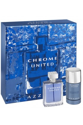 Azzaro - Azzaro Chrome United Set Edt 100 Ml+Deostick 75Ml Parfüm Seti