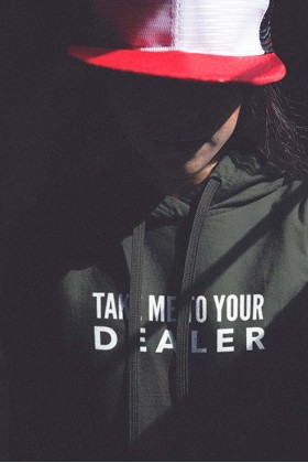 For Fun - Take Me To Your Dealer / Oversized Hoodie