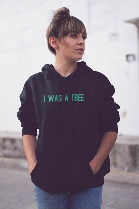 For Fun - I Was A Tree / Oversized Hoodie