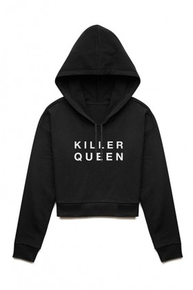 For Fun - Killer Queen / Cropped Hoodie