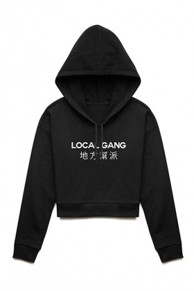 For Fun - Local Gang / Cropped Hoodie
