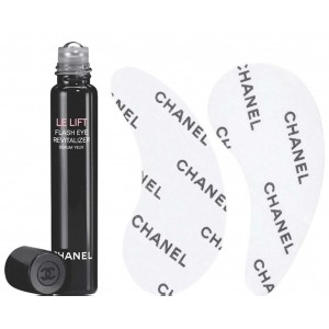 Chanel Lift Flash Eye Revitalizer (5Ml Roll On + 10*2 Patches)