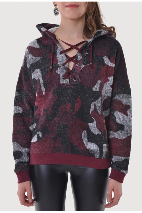 BSL BORDO  SWEATSHIRT 9758