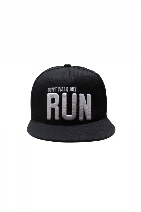 Panyo Fashion Don't Walk but Run Hip Hop Snapback Şapka