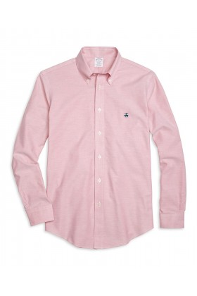 Brooks Brothers - Spt Ni Ox Solid Sl F15 Ml