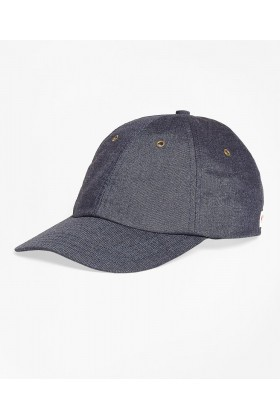 Brooks Brothers - Brooks Brothers Baseball Desen Erkek Lacivert Cap Şapka