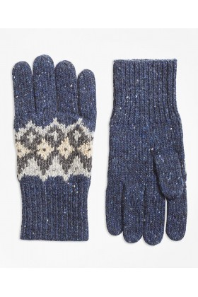 Brooks Brothers - Rf Glv Sw Donegal Fair isle Nvy/Gry