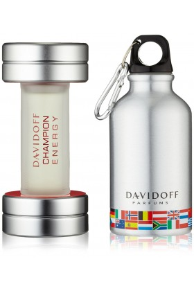 Davidoff - Champion Energy EDT 90ML  Sports Flask Parfüm Seti