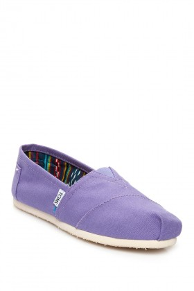 Toms - Purple Stonewash Seasonal Classic